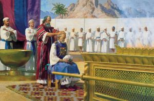 Aaron Receives the Priesthood from Moses